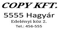 Szöveglemez Printer S 200 bélyegzőhöz