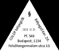 Szöveglemez T 45 Dátumbélyegzőhöz
