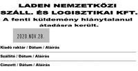 Szöveglemez Expert 3960 bal dátumos bélyegzőhöz